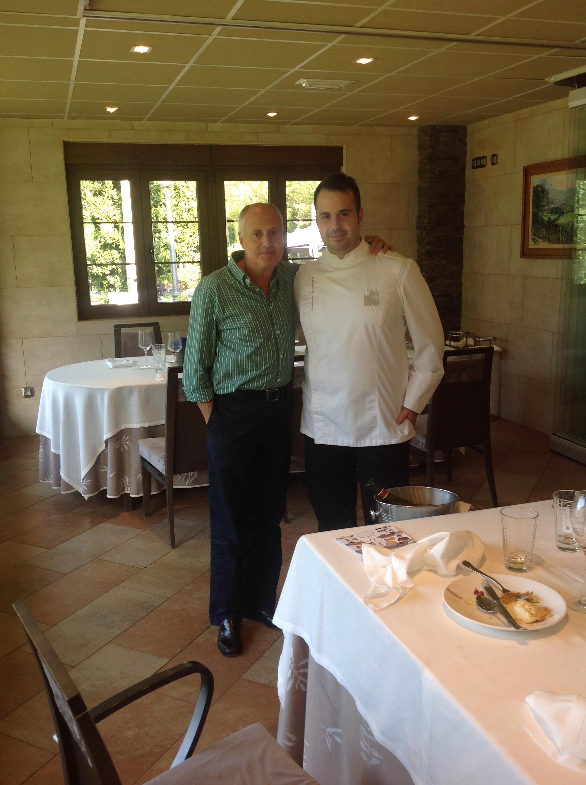 Carlos y Jefe Cocina